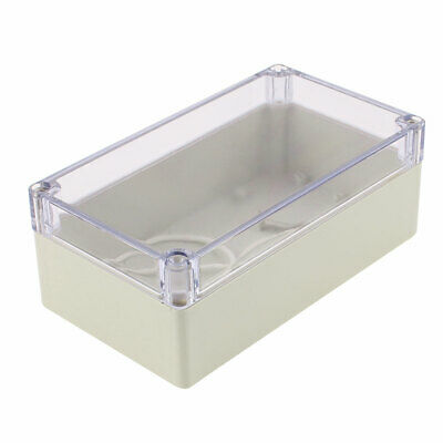 158 x 90 x 60mm Transparent Cover Dustproof IP65 Junction Box Terminal Enclosure