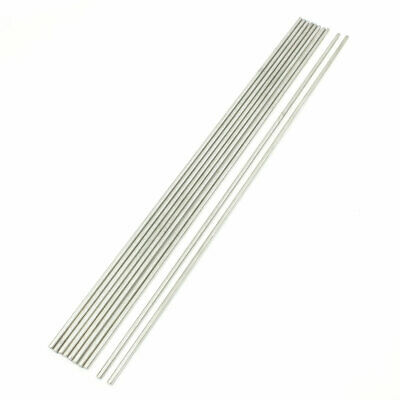 RC Airplane 300mm x 3mm Stainless Steel Round Rod 10 Pcs