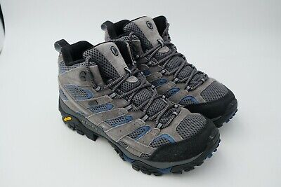 ae9581904cb MERRELL MEN'S MOAB 2 Mid Waterproof Hiking Boot Castle Size US 9.5 EU 43.5  Used
