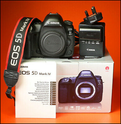 Canon EOS 5D MK IV Digital SLR Camera, Sold With Charger,Battery, Manual, Boxed