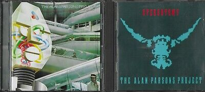 The Alan Parsons Project 2 Excellent Cds I Robot Remastered Stereotomy