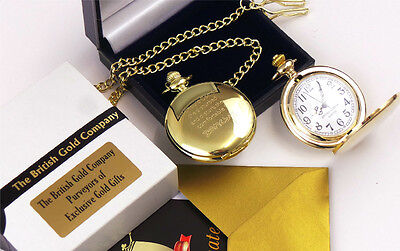 BANKSY Graffiti 24K GOLD Clad Signed Quote POCKET WATCH Street Art in Gift Case