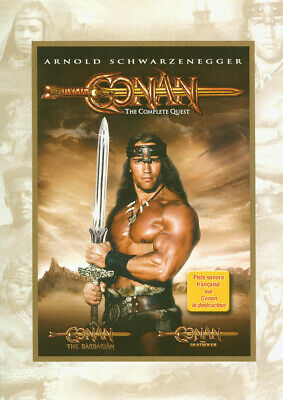 Conan: The Complete Quest (The Barbarian / The Destroyer) (Ca Version) (Dvd)