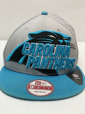 d7a6b9ee CAROLINA PANTHERS NFL New Era 9Fifty Snap Back Hat