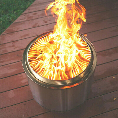 """Solo Stove """"Bonfire"""" Fire Pit by SoloStove Stainless Steel"""