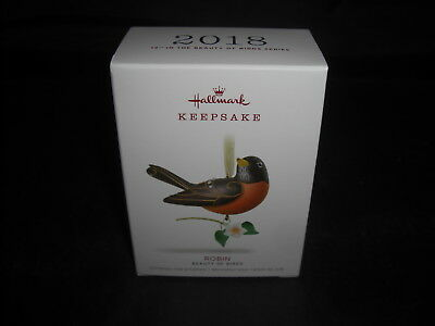 2018 Hallmark Robin-Beauty of Birds 14th in Series