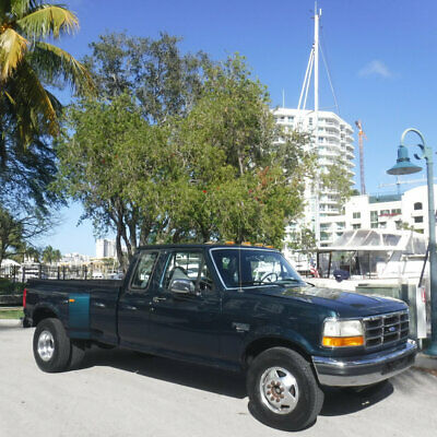 "1994 Ford F-350 Supercab 155"" WB DRW Florida Ford F350 Supercab Dually 7.3 Liter Turbo Diesel Rust Free Amazing Truck"