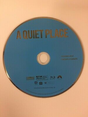 """""""A Quiet Place"""" Blu-Ray Disc……. Free Shipping Like New"""