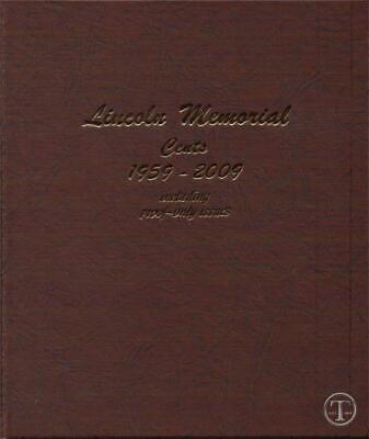 1959-2009 COMPLETE P D and S Lincoln Memorial Set BU AND PROOF- Dansco Album