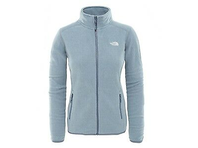 Giacca Pile Donna The North Face Inverno 2Uau6Zf  100 Glacier Full W Grisaille G