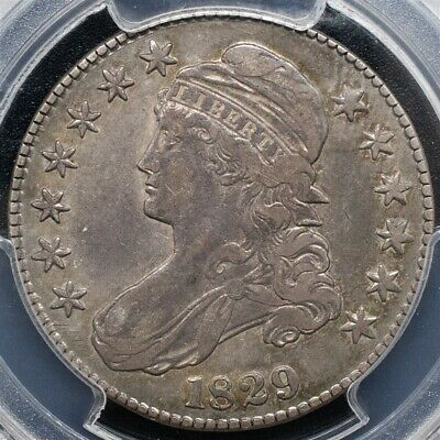 1829 Capped Bust Half Dollar, Overton O-108 - Small Letters- PCGS VF30