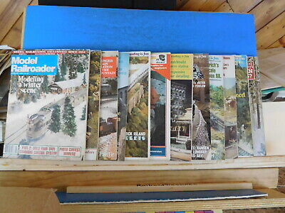 Model Railroader Magazine Complete Year 1980  12 issues