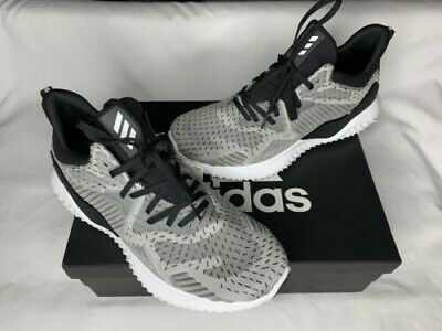 186a182ee4f78 Adidas Alpha Bounce Beyond Running Shoes Grey W Sneakers DB1126 Mens Size  12 New