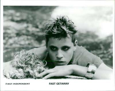 A scene from the film Fast Getaway . - Vintage photo
