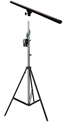 Winch Up Lighting Stand Soundking Ws4 Dlc001 Heavy Duty Tuv Rated - Bonus T-Bar