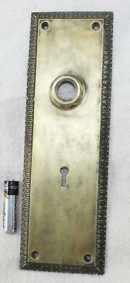 """Sargent & Co.-Antique Brass Back Plate-9 5/8"""" x 3 1/8""""-RT"""