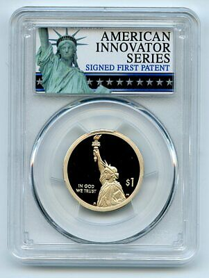 2018 S $1 American Innovation Dollar PCGS PR70DCAM First Strike Exclusive Label