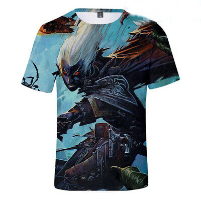 Hot Women Men 3D Print T-Shirt Dungeons And Dragons Summer Short Sleeve Tops Tee