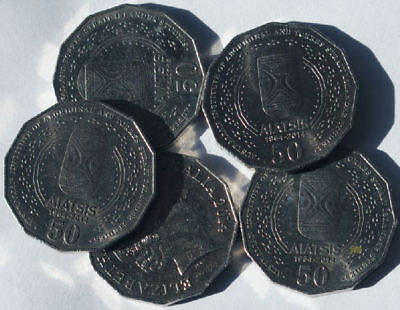 3 x 2014 AIATSIS 50 cents circulated low mintage 50c collectable