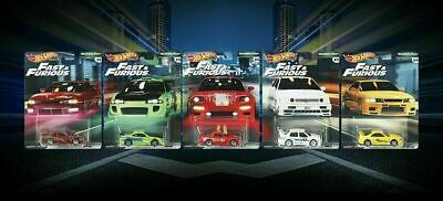 2019 Hot Wheels Fast & Furious Premium B Release 5 Car Set - Pre-Order For 3/22