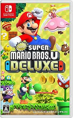 NEW Nintendo Switch New Super Mario Bros. U Deluxe JAPAN import Japanese game