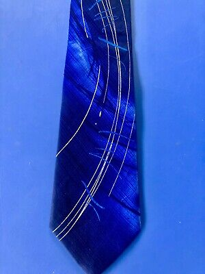 "Jerry Garcia Designer Art Pattern Tie - ""not Necessarily A Tree"" - Collection 57"