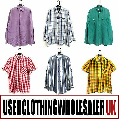 50 Men's Vintage Retro Shirts Mixed Eras Wholesale Clothing Joblot