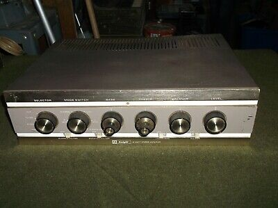 (1) Knight M0Del Ka55 Tube Stereo Integrated Amplifier - Sold As Is - No Tubes