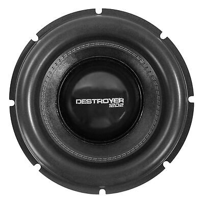 "Recone Kit For Rockville Destroyer 12D2 12"" Subwoofer w/USA Voice Coils!"