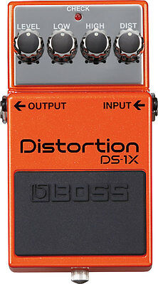BOSS DS-1X Distortion Pedal  FREE Priority Mail Ship+AC Adapter