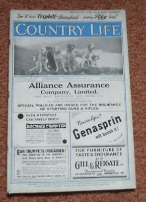 Country Life magazine 1933  Shooting and Scottish Number  country pursuits + ads