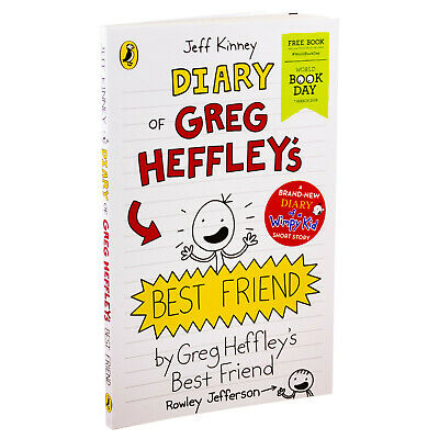 Diary Of Greg Heffleys Best Friend World Book Day 2019 By Jeff Kinney NEW