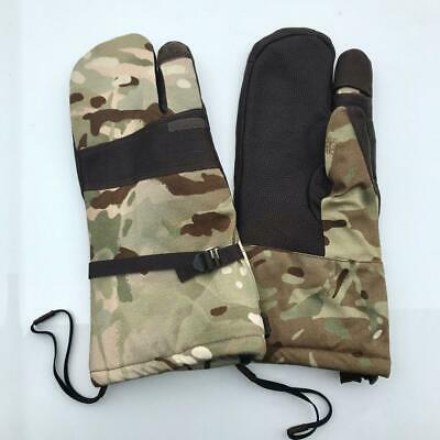 NEW - Genuine MTP Multicam Army Issue Gortex Lined Blizzard Mittens - LARGE
