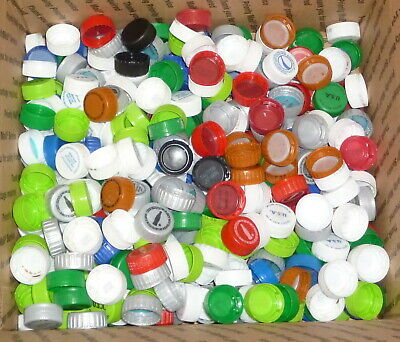 460 Coca Cola / Pepsi  Bottle Caps Arts Crafts  All Points Have Been Used Box #2
