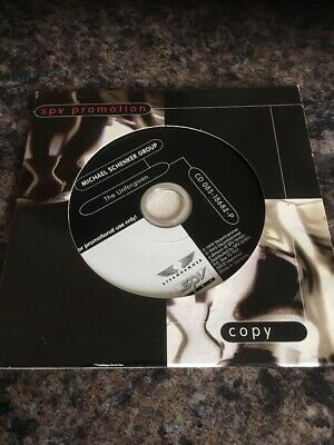 Michael Schenker Group - Rare Germany Promo Cd The Unforgiven