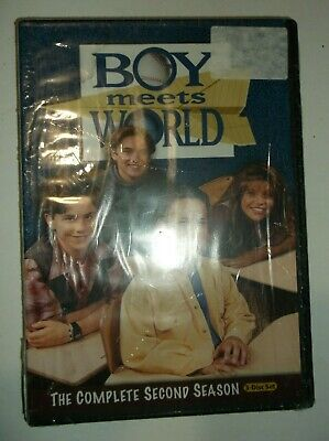 Boy Meets World - The Complete Second Season (DVD, 2010, 3-Disc Set) BRAND NEW