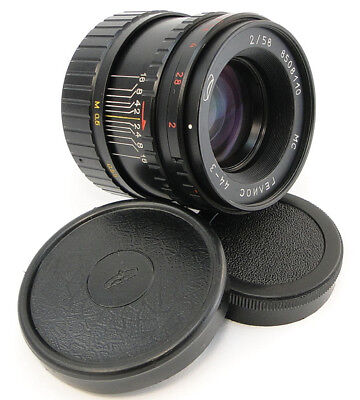 ⭐SERVICED⭐ MC HELIOS 44-3 58mm f/2 Russian Made in USSR MMZ BelOMO Lens M42 44-2