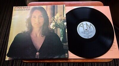 Joan Baez-Diamonds And Rust-1975 Uk Lp-Near Mint - Stunning!