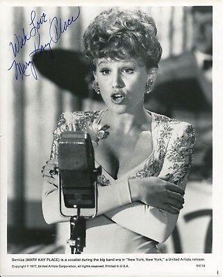"""Mary Kay Place  10x8 inch signed photo from """" New York New York """" 1977"""