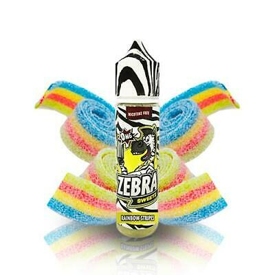 Zebra Juice Sweetz Rainbow Strips 50ml - E-liquid E-juice + Nicokit gratis