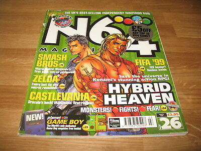 N64 Nintendo official Magazine # 26 issue 26 March 1999