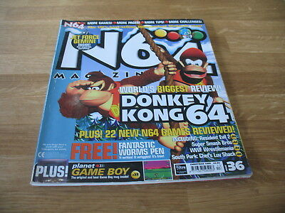 N64 Nintendo official Magazine # 36 issue 36 Christmas 1999