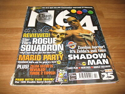 N64 Nintendo official Magazine # 25 issue 25 February 1999