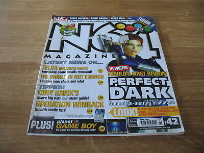 N64 Nintendo official Magazine # 42 issue 42 June 2000