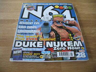 N64 Nintendo official Magazine # 28 issue 28 May 1999