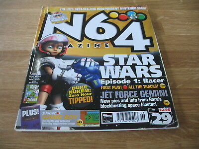N64 Nintendo official Magazine # 29 issue 29 June 1999