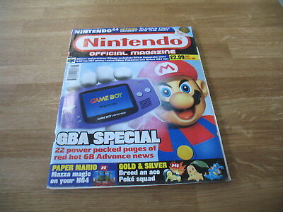 Nintendo official Magazine # 105 issue 105 June 2001 N64