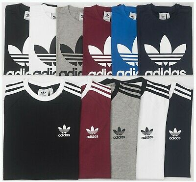 Adidas Originals Retro California / Trefoil Short Sleeve Crew Neck Mens T-Shirt