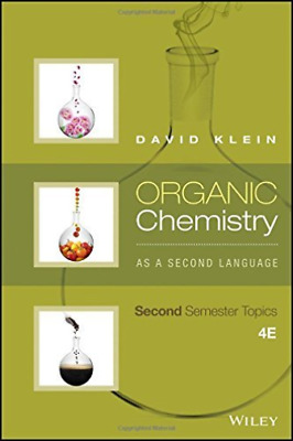 Klein David-Organic Chemistry As A Second Language BOOK NEW