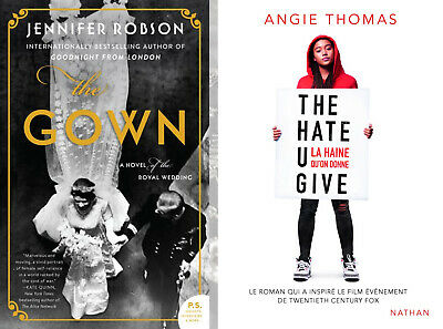 The Gown: A Novel of the Royal Wedding by Jennifer + The Hate U Give By Angie